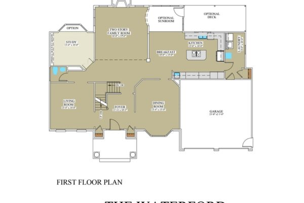 Waterford 1st floor