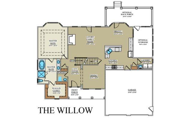 Willow 1st floor