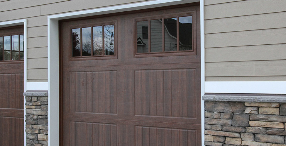 Steel Insulated Wood Grain Garage Doors