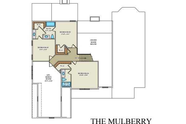 Mulberry 2nd floor