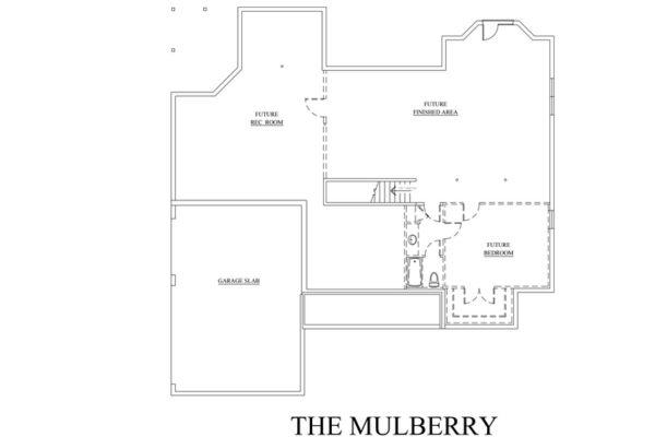 Mulberry Custom Floor Plan Best Builder Frederick County Va