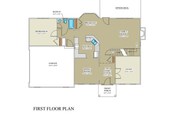 Pinegrove 1st floor