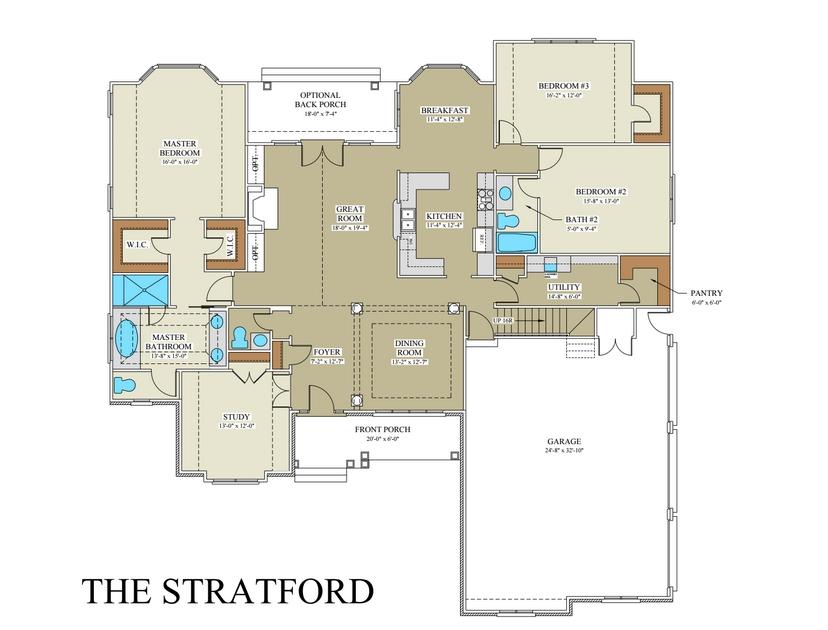Stratford Homes Floor Plans: Custom Builder Frederick County VA
