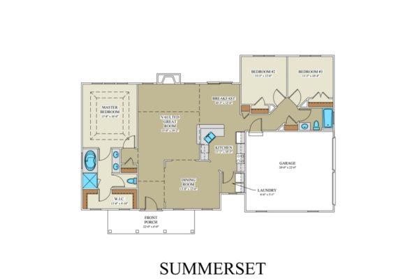 Summerset floorplan