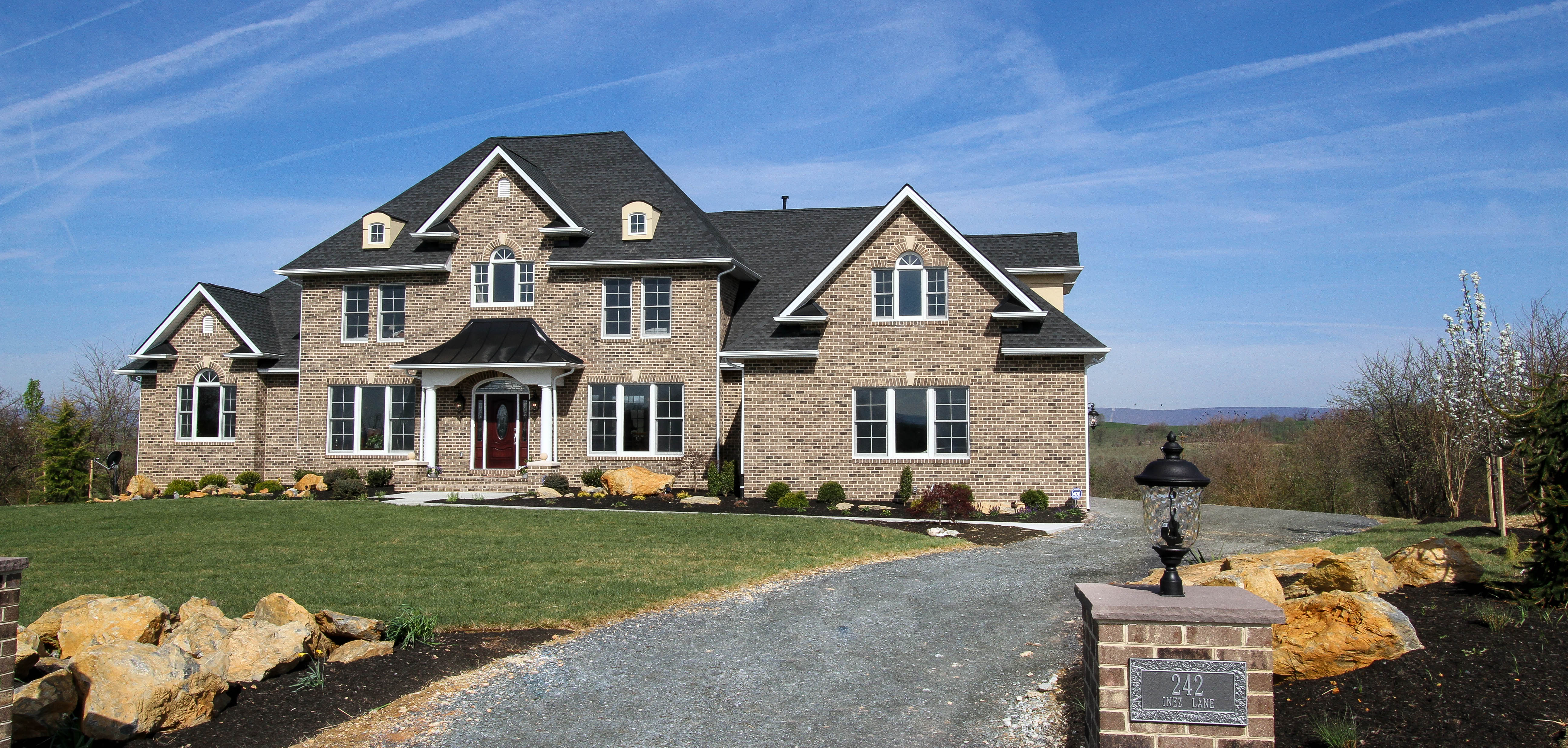 Homes and lots for sale from a new home builder winchester va for Custom made home