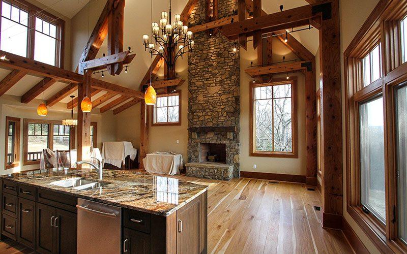 Interior Kitchen Fireplace  (1 of 1)