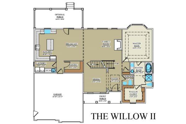 Willow II 1st floor