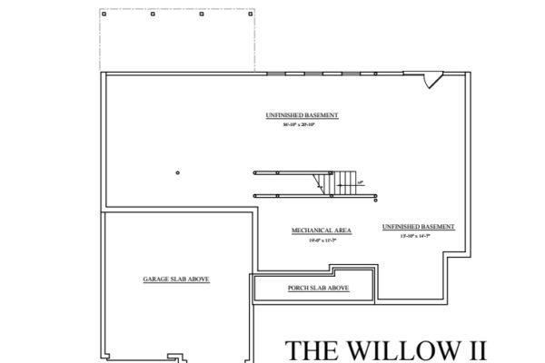 Willow II basement